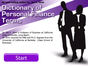 Dictionary of Personal Finance Terms