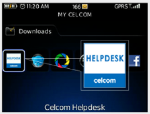 Celcom Helpdesk Speed Dialer
