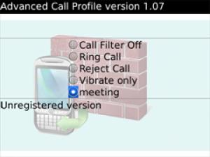 Advanced Call Profile
