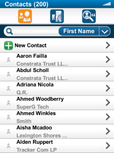 Mobile CRM for SugarCRM DEMO