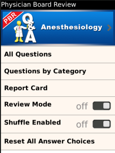 Anesthesia 2 PhysicianBoardReview Q and A
