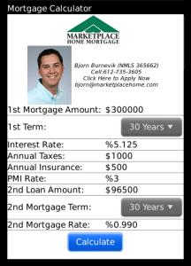 Bjorn Burnevik's Mortgage Calculator