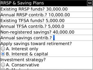 The Golden Calculator RRSP