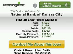 LendingTree Mortgage Rate Finder
