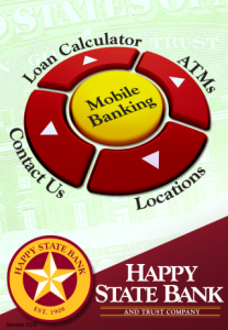 Happy State Bank for blackberry app Screenshot