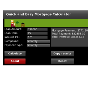QE Mortgage Calculator