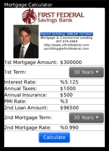 Patrick Schilling's Mortgage Calculator
