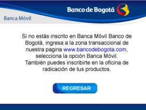 Banca Movil Banco de Bogota