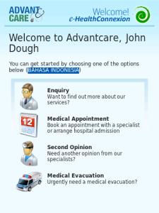 Advantcare e-HealthConnexion