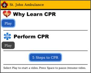 St John Ambulance Canada CPR Awareness