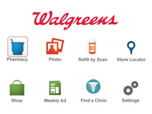 Walgreens for blackberry app Screenshot