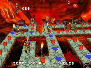 3D Volcano Island OpenGL Edition for Blackberry Action game download
