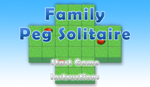 Family Peg Solitaire for blackberry game Screenshot