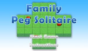 Family Peg Solitaire for blackberry game Screenshot
