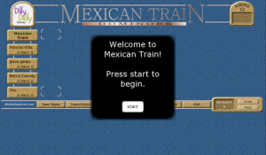 Mexican Train Dominoes for blackberry game Screenshot