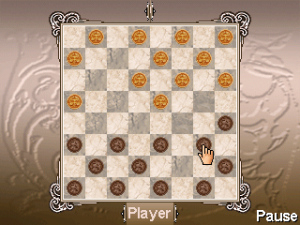 Checkers Online for blackberry game Screenshot