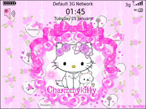 Charmmy Kitty roses for love