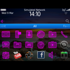 Purple Theme – Purple Icons theme from our Color Themes range for