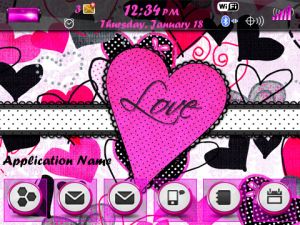 GIRLY THEME for Blackberry Themes download