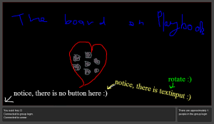 Shared Board net for blackberry app Screenshot