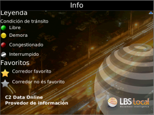 Apontador Transito Buenos Aires for blackberry app Screenshot