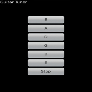 Guitar Tuner for blackberry