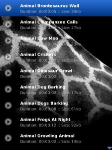 Ringing Pro Ringtones Animals Collection
