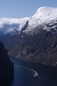 World Heritage Norwegian Fjords Photo for blackberry Screenshot