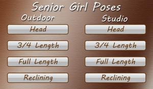 High School Senior Posing Guide for blackberry Screenshot