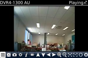 SwannView for blackberry Screenshot