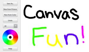 Canvas Fun for blackberry Screenshot
