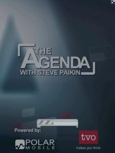 TVOs The Agenda with Steve Paikin