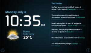 Cassandra Stand – News and Clock