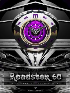 Roadster60 Designer Desktop Clock