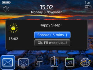 Sleep Cycles App Alarm